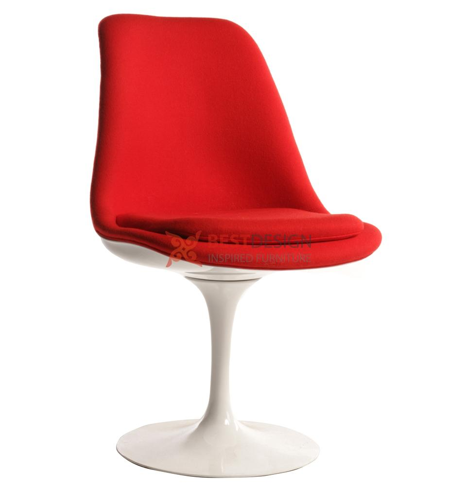 Upholstered Tulip Chair